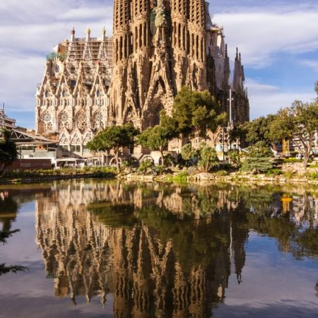 Parc Guell and Sagrada Familia tour