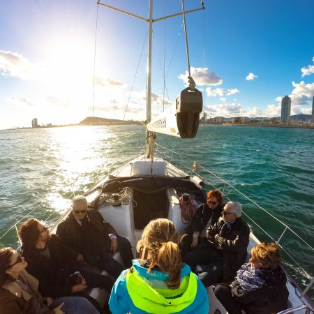 Boat Tours in Groups Barcelona