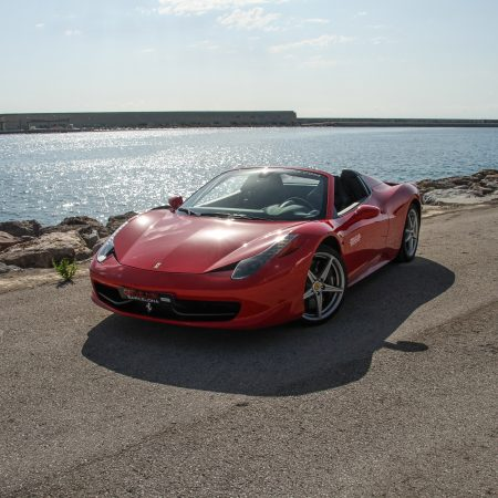 Ferrari 458 Spider Barcelona Tour