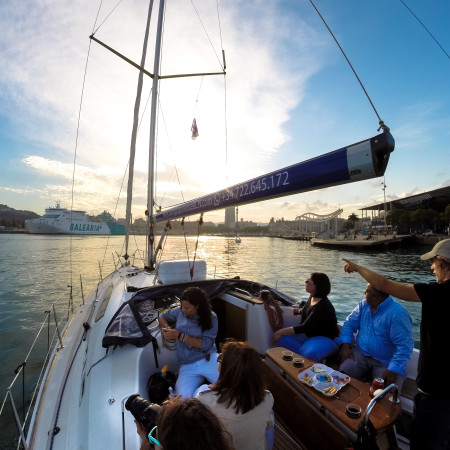 Sailing tours with Sailing Expererience Barcelona