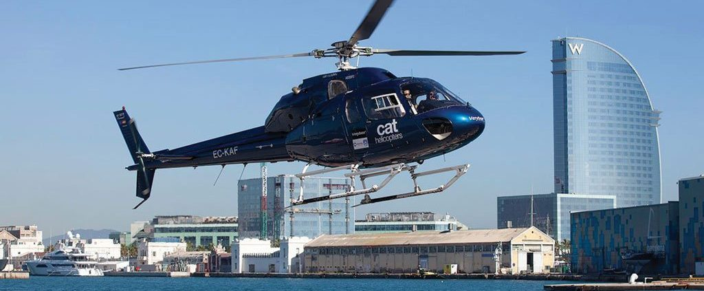 Fly Sail Helicopter Tour Pm Sailing Experience Barcelona Am