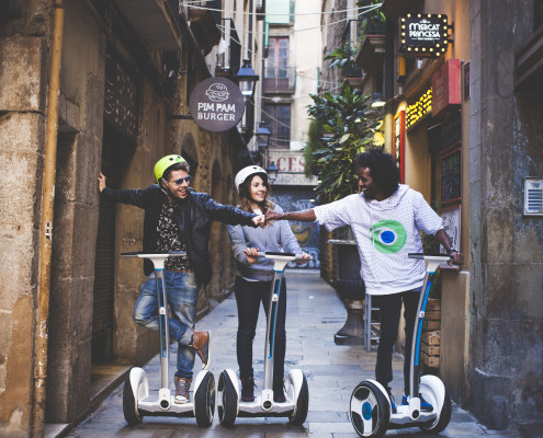 Segway medium tour Barcelona