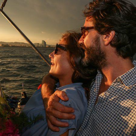 Sailing sunset tours Barcelona