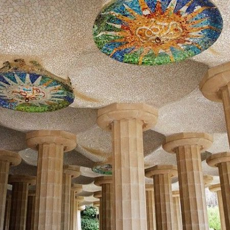 Visit of the Parc Guell Barcelona