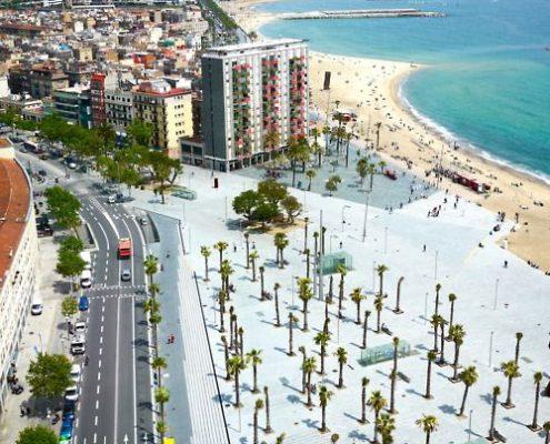 Visit of Barceloneta Barcelona
