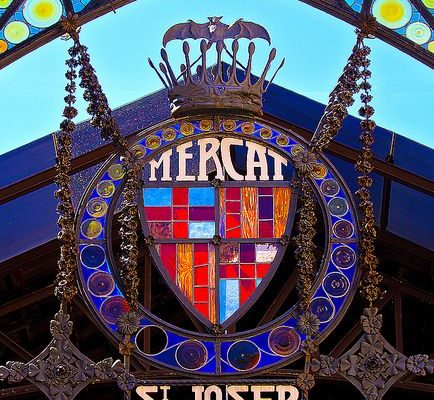 La Ramblas La Boqueria Barcelona