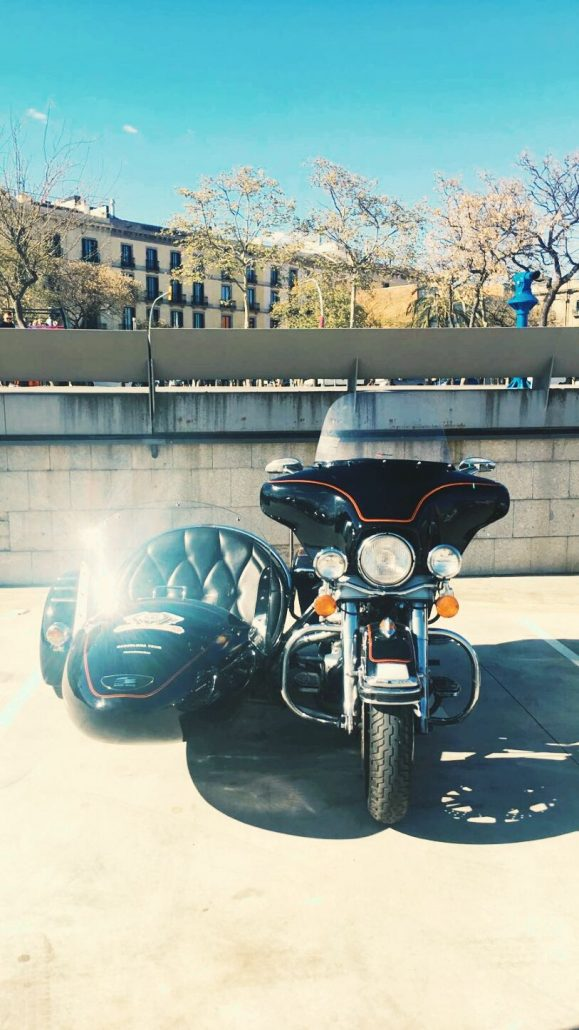 Sidecar Barcelona tours