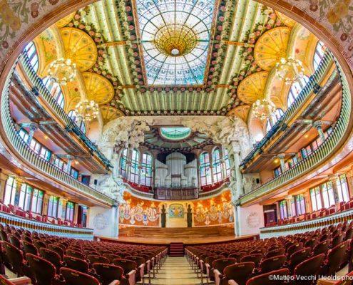 Visit of Palau de la Musica Catalana Barcelona