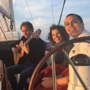 Spanish Guitar Barcelona Sailing