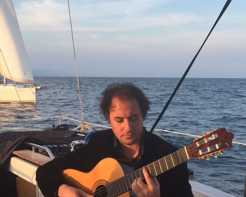 Spanish Guitar Barcelona Sailing