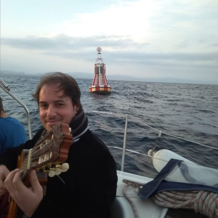 Spanish Guitar Experience while sailing in Barcelona