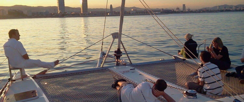 Sunset Catamaran Barcelona
