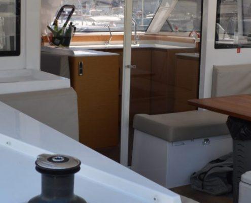 Interior Yacht Sailing Experience Barcelona