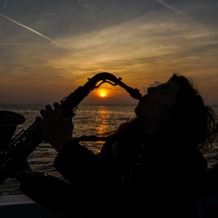 Sailing Experience Saxophone Sunset Time