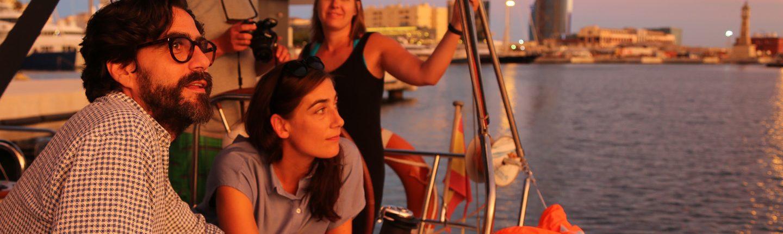 Sunset sailing trips Barcelona