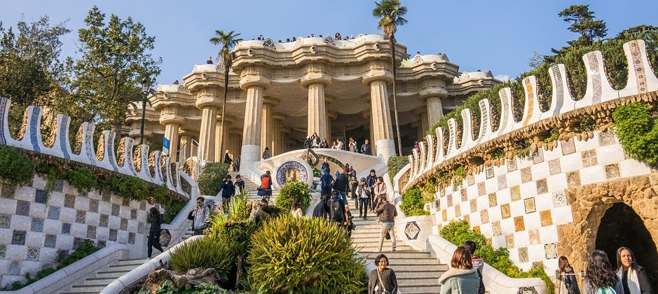Visiter le Parc Guell Gaudi Barcelone