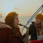 Saxophone sailing experience barcelona